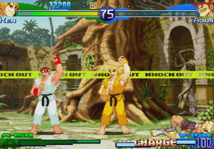 Street Fighter Alpha 3 - Dramatic Battle