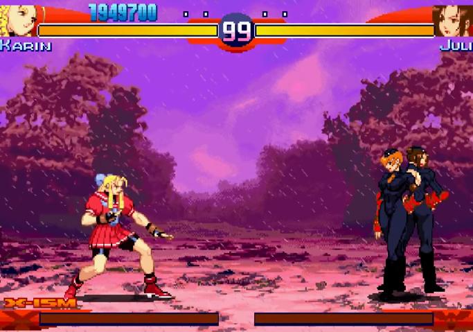 Street Fighter Alpha 3 - Semifinal Match-Up