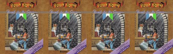 "As a sort of bad joke, I picked one game that was seminal to me - King's Quest I and repeated it's box art four times as my ""four games."""
