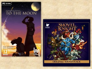 To The Moon had emotional, beautiful music with some haunting lyrics. Shovel Knight just sounded like a lost NES classic from the word go.