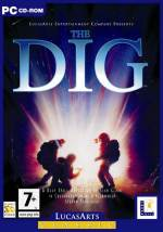 """This is the box for The Dig.  The Dig is a dense game that explores death, and what death means and what ultimate price we may pay if we were to """"live forever.""""  Heavy stuff for a computer game."""