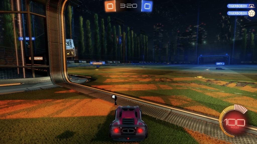 Square goalie