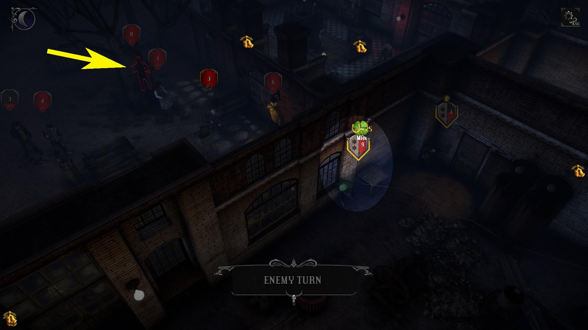 combat luck highlight