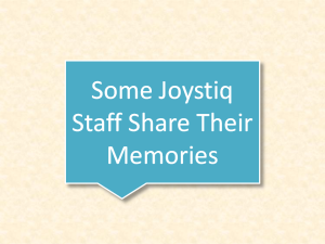 I invited some Joystiq staff to share both what they're doing now and a fond memory of the website.