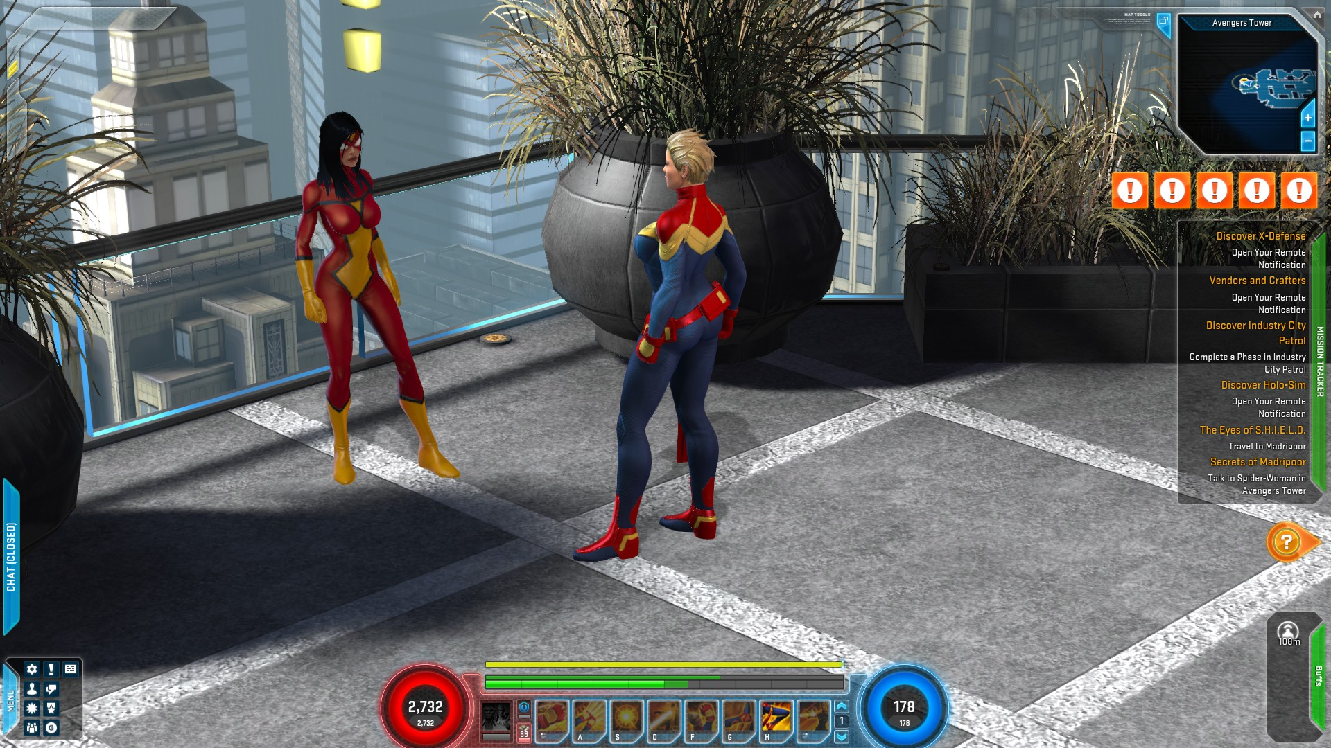 Marvel and SpiderWoman