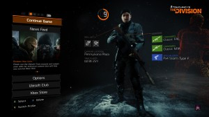 The Division Character Selection