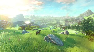The first game was an open-world romp. If this screenshot [and Nintendo] are to be believed, that style of play will be right back in force. Here's hoping it comes out soon.
