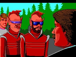 The ending of Space Quest 3 definitively closes off the series. The two guys go to work for Sierra while Roger ends up back in space.