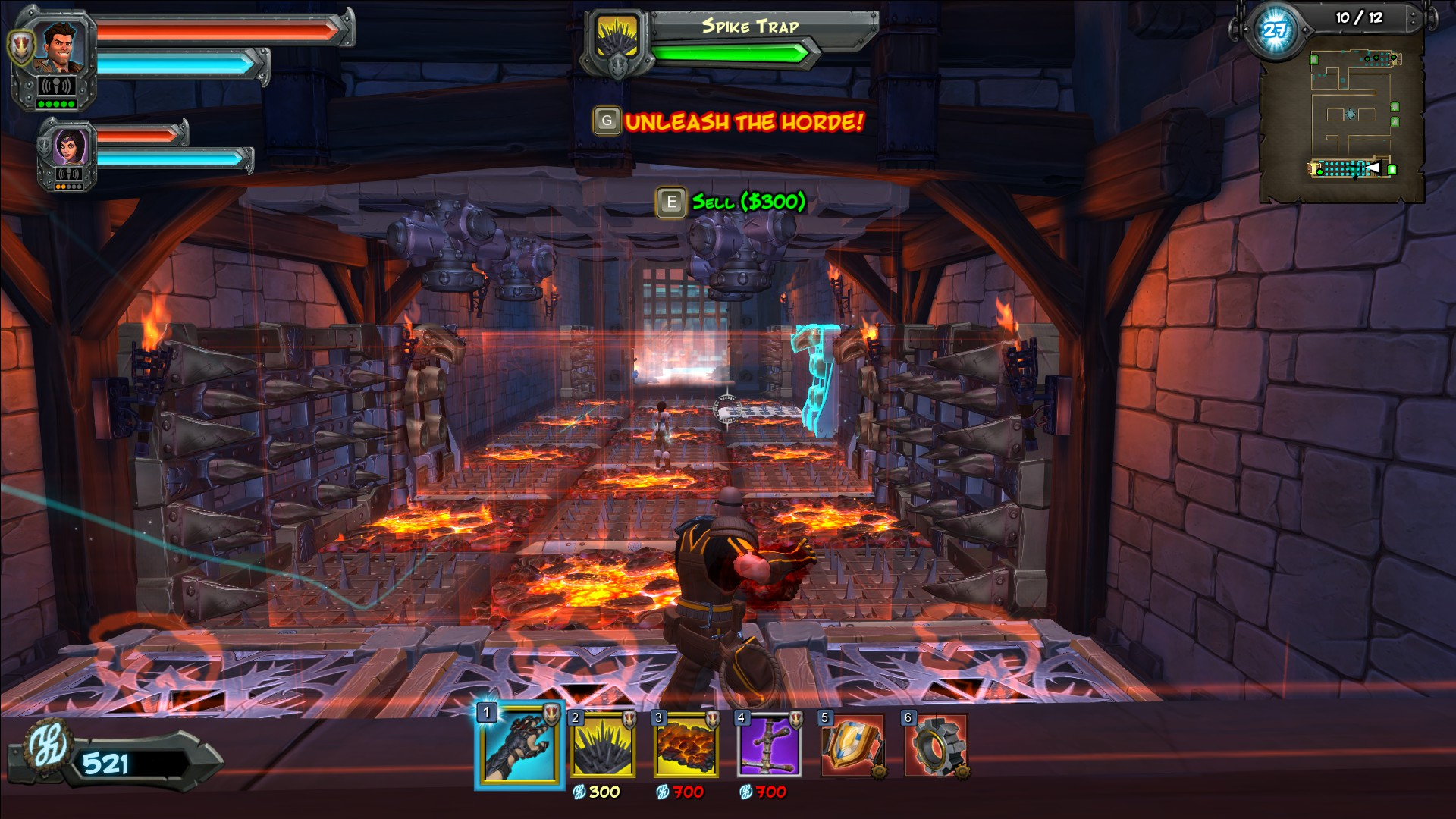 orcs must die unchained unlock traps
