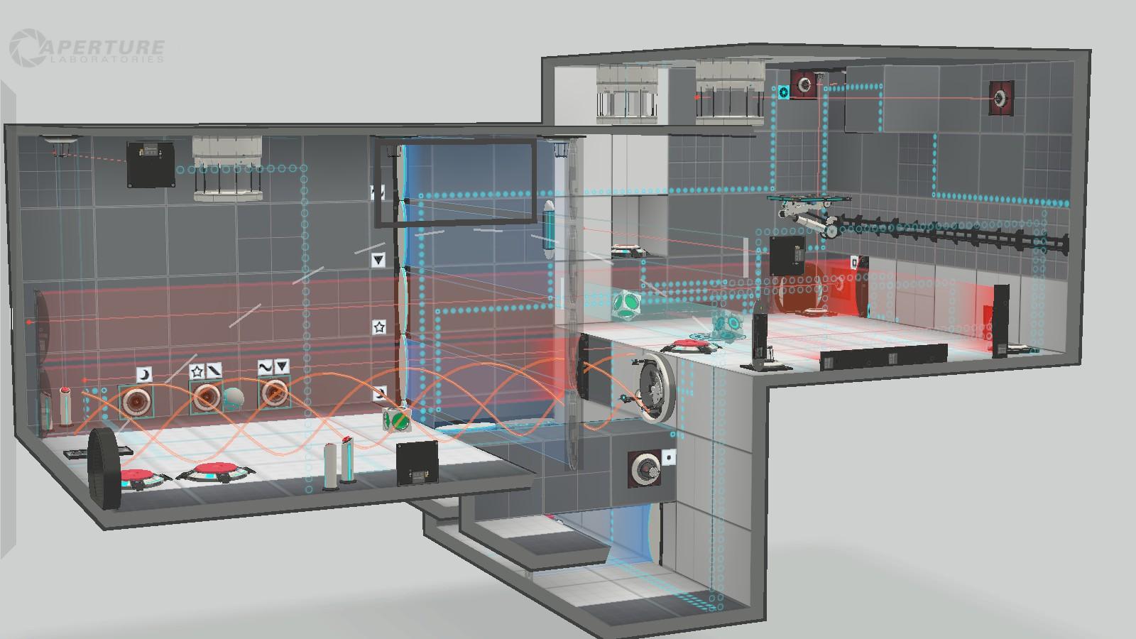 Portal 2 Level Design