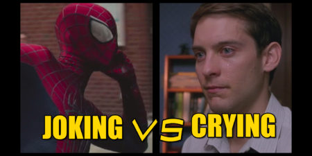 Spider-Man Quips Vs Peter's Web of Tears