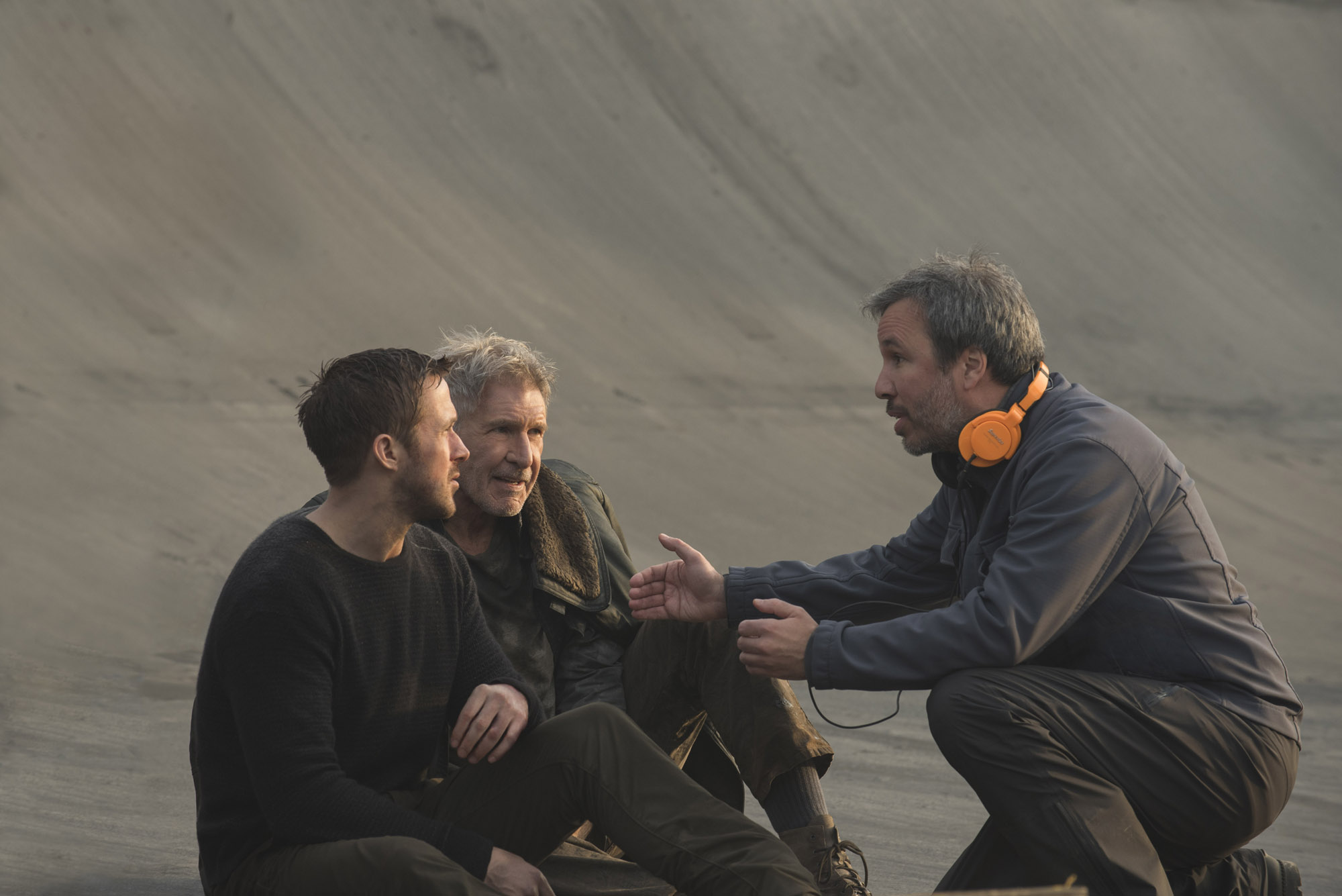 Ryan Goslin, Harrison Ford, Denis Villeneuve