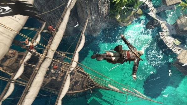 'Black Flag' allowed players to live out Pirate fantasies using virtual boats.